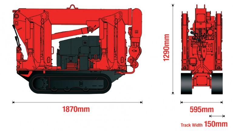 Minigrúa - URW 094