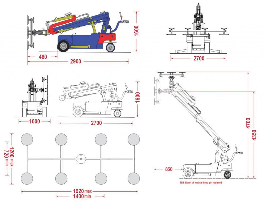Robots Cristaleros - Robot Ks 800
