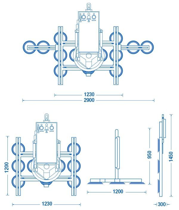 Ventosas - Ventosa 1500VP Hidráulica