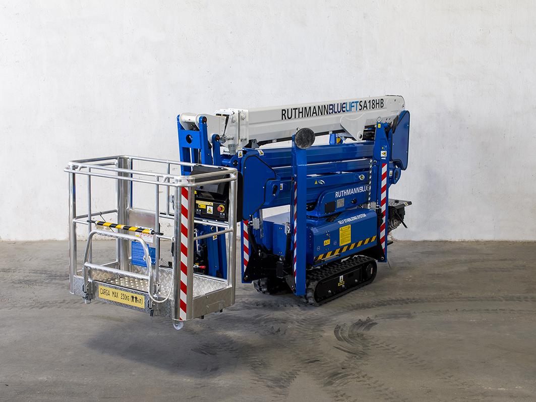 Máquina de Ocasión - Plataformas Ruthmann-Bluelift