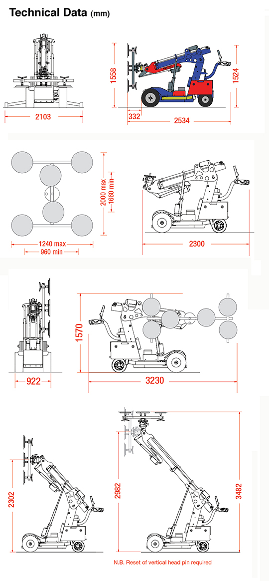 Robot Cristaleros - Robot KS 600 Offroad
